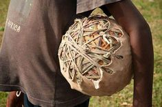 Soccer in Africa - pretty creative soccer ball! play soccer with kids in AFRICA Play Soccer, Soccer Ball, Time For Africa, The Things They Carried, Soccer Tips, Football Players, Beautiful, African, Waka Waka