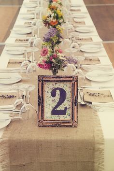 sweet rustic wedding decor - Read more on One Fab Day: http://onefabday.com/durhamstown-castle-wedding-by-bronte-photoraphy/