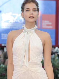 Barbara Palvin White Hot At Venice Film Festival