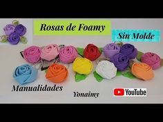 MANUALIDADES YONAIMY - YouTube Make It Yourself, Flowers, Blog, Felt, Videos, Youtube, Head Bands, Craft, Bridal Parties