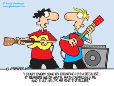 Sing The Math Blues....1 2 3 4