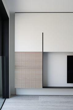 52 veces he visto estas lindas muebles minimalistas. Minimalist Interior, Modern Interior, Interior Architecture, Interior Walls, Living Room Interior, Wall Design, House Design, Muebles Living, Home Modern