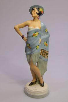 Royal Dux, Carmen Figurine, 1930s