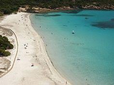 Rocapina beach Corsica