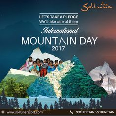 11th December every year is marked as International Mountain Day, with a focus on amicably trying to make the mountain lands over the world a much better place to live & explore. #InternationalMountainDay #JimCorbett #Mountain #MountainDay
