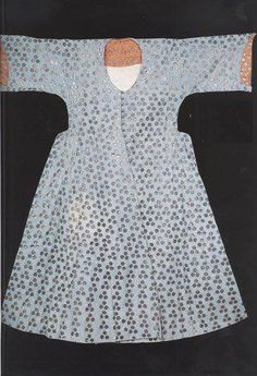 Blue Inner Kaftan with Toothed Design, belonged to Ayse Sultan (d.1605), late 16th century, Topkapı Palace Museum
