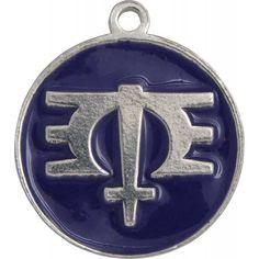 Melissa Etheridge ME Symbol Medallion