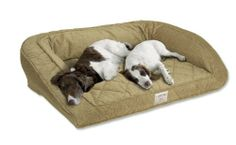 Orvis Deep Dish Dog Bed / X-large Dogs 120+ Lbs, Multiple Dogs., Barleycorn,