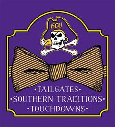 8847d088c23 Southern Couture University of East Carolina ECU Pirates Classic Preppy Bow  Girlie Bright T Shirt