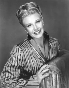 Ginger Rogers was an American actress, dancer, and singer who appeared in film, and on stage, radio, and television throughout much of the 20th century