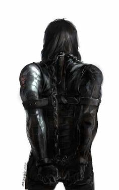 The Winter Soldier - Chained fan art