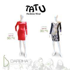 TATU Fashion Wear....Ju ofron veshje të ndryshme për një fundvit me shumë festa ! Ju presim në Dardhë...