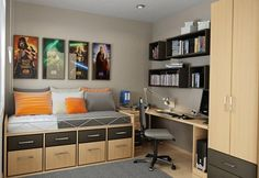 bedroom – Interior design ideas and decorating ideas for home decoration  Udeas for amall space