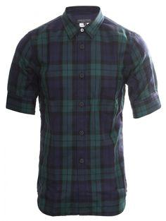 Comme Des Garcons Homme Plus   Tartan Check S/S Shirt   Buy Comme Des Garcons Homme Plus Online at Hervia.com