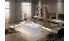 Kaldewei Conoduo x Soaking Bathtub Bathroom Spa, Bathroom Layout, Master Bathroom, Bathroom Ideas, Best Bathtubs, Soaking Bathtubs, Bad Inspiration, Bathroom Inspiration, Jacuzzi