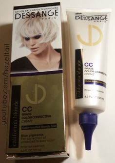 Dessange California Blonde Review + CC Creme Demo Blog Post I received all of these products complementary from @influenster for review purposes. #Hair #HairCare #BlondeHairCare #Dessange #JadoreDessange #DessangeCaliforniaBlonde #DessangeParis