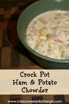 A creamy, amazing soup that is a great way to use up leftover ham!