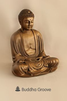 Buddha, with a calm countenance, is a relaxing presence in your indoor space, reminding you to live in the present. Seated in quiet reflection, this figure bears a beautiful resemblance to the famous giant Buddha statue located at the Buddhist temple in Kamakura, Japan. The original statue looms at over 42 feet tall, but you can enjoy your version in this statue of 16 inches. Kamakura, Giant Buddha, Live In The Present, Buddhist Temple, Bronze Finish, Japanese, It Is Finished, Reflection, Bears