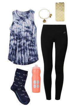 Not very happy about my classes… kinda stressed by classygrace on Polyvore featuring American Eagle Outfitters, NIKE, Sonix and Sweaty Betty