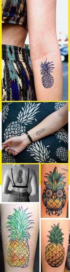 tatuagem abacaxi