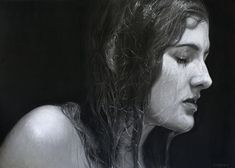 Dirk Dzimirsky Realistic Pencil Drawings, Realistic Paintings, Amazing Drawings, Charcoal Drawings, Portrait Au Crayon, Pencil Portrait, Hyperrealism, Photorealism, Dirk Dzimirsky
