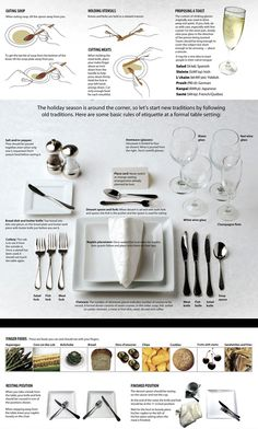 place setting etiquette for kids | Dining Place Settings Etiquette » adventures of a carnivore ...