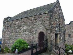 St. Margaret's Chapel, Edinburgh Castle. Built in 12th century. Holds around 16 people, I think.