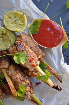 David thompson thai street food recipes pork skewers thai street thai street food maybe the best in the world thai pork lemongrass skewers forumfinder Choice Image