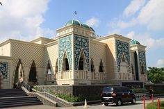 Masjid At-Taubah in Jakarta, (Indonesia).