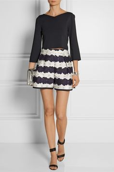 Mother of Pearl | Addison floral-print cotton and silk-blend shorts | NET-A-PORTER.COM