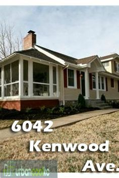 6042 Kenwood Avenue. 3 Bed, 3 Baths. For more information go to : http://www.urbancoolkc.com/weekly-top-cool-houses.html