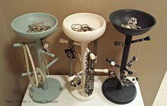 Hometalk | Mug Tree Jewelry Holders