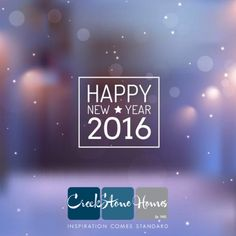 Wishing everyone a #HappyNewYear and all the best in 2016! Cheers from all of us at CreekStone Homes! http://creekstone-homes.com/