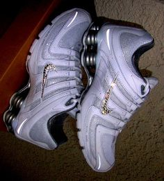 Nike Shox with bling<3