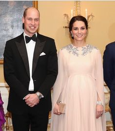 """Kensington Palace: """"The Duke and Duchess of Cambridge tonight attended a special dinner in their honour hosted by The…"""""""
