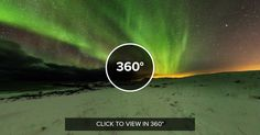 Northern Lights Lofoten Norway 360 photo by Martin Kulhavy [8192x4096]