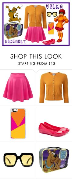 """""""Velma"""" by kimmie-plus2 on Polyvore featuring Pure Collection, Casetify, UN United Nude and Gucci"""