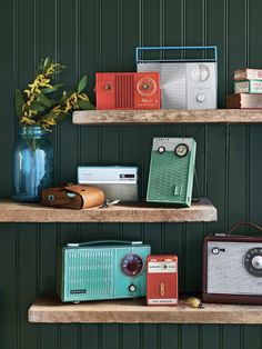 Take a radio with you to a quiet place and listen