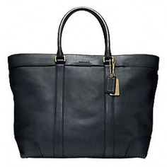 Not a coach fan usually but i like this. apparently its for men (!?)   BLEECKER LEGACY LEATHER WEEKEND TOTE