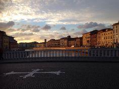 Pisa, il posto giusto nel momento giusto! Ponte di mezzo