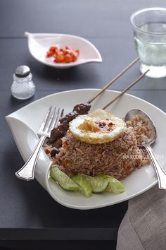 Nasi goreng (Indonesian fried rice). This is my comfort food! And once you master it, it is actually very easy to prepare at home.