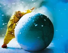 Slava's Snowshow, Royal Festival Hall, London. Vagrant clowns from Russia create a remarkable fantasy world in the snow. An alternative family Christmas outing.