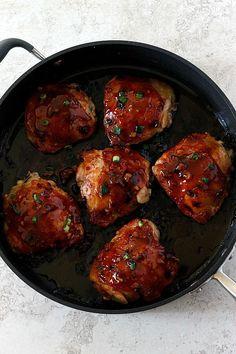 General Tso's Chicken Thighs | Fabtastic Eats