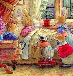 Illustration by Brian Patterson Animal Art, Storybook Art, Illustration, Childrens Art, Bunny Art, Fairy Tales, Cute Illustration, Book Art, Vintage Illustration