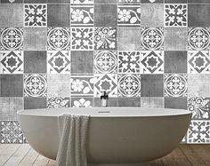 traditional spanish tiles stickers tiles by homeartstickers - Tijdelijke Backsplash
