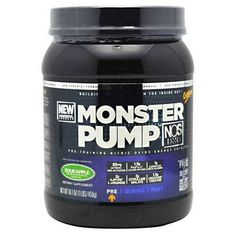 CytoSport Monster Pump NOS