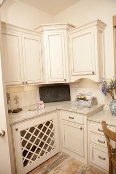 Built in Dog Kennel in the laundry. contemporary laundry room by B Woodworking Inc.