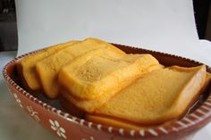 """Fatias de Tomar or """"Tomar Slices"""" are a traditional Portuguese dessert. The pot used to cook this dessert can be found only in the city of Tomar, but they can also be made in a form that seals well. It is said that it was the favorite dessert of the friars of the Convento de Cristo. It's just irresistible.. )"""