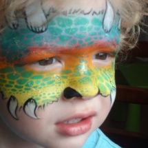 Stephanie's Face Painting »monster mask