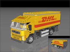 Transporter Van, Lego Truck, Lego Military, Lego Design, Cool Lego, Lego City, Legos, Volvo, Trucks